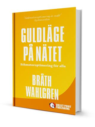 Omslag på nya SEO-boken Guldläge på nätet
